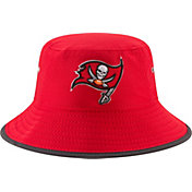 New Era Men's Tampa Bay Buccaneers 2017 Training Camp Red Bucket Hat