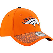 New Era Men's Denver Broncos Sideline 2017 On-Field 39Thirty Stretch Fit Hat