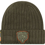New Era Men's Chicago Bears Salute to Service 2017 Knit Hat