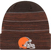 New Era Men's Cleveland Browns Sideline 2017 On-Field TD Knit Hat