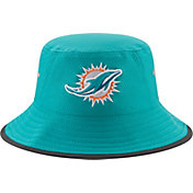 New Era Men's Miami Dolphins 2017 Training Camp Aqua Bucket Hat