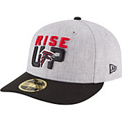 New Era Men's Atlanta Falcons 2018 NFL Draft 59Fifty Fitted Grey Hat