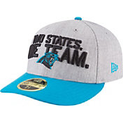 New Era Men's Carolina Panthers 2018 NFL Draft 59Fifty Fitted Grey Hat