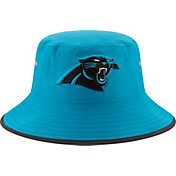 New Era Men's Carolina Panthers 2017 Training Camp Blue Bucket Hat