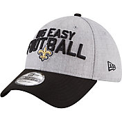New Era Men's New Orleans Saints 2018 NFL Draft 39Thirty Stretch Fit Grey Hat