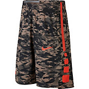 Nike Boys' Dry Elite Printed Basketball Shorts