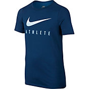 Nike Boys' Dry Swoosh Athlete Graphic T-Shirt