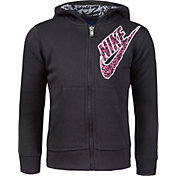 Nike Little Girls' Sportswear Club Full Zip Hoodie