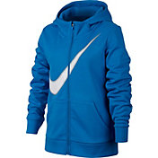 Nike Girls' Therma Training Full-Zip Hoodie