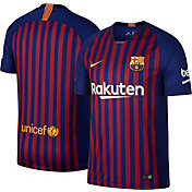 Nike Men's Barcelona FC 2018 Breathe Stadium Home Replica Jersey