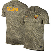 Nike Men's AS Roma Spring 18 Green Training Shirt