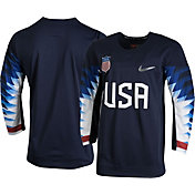Nike Men's USA Hockey Replica Navy Jersey