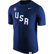 Nike Men's USA Hockey Legion Crest Royal Performance T-Shirt