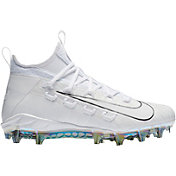 Nike Men's Alpha Huarache 6 Elite LE Mid Lacrosse Cleats