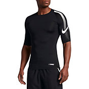 Nike Men's Pro Half Sleeve Compression Football Shirt