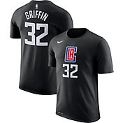 Nike Men's Los Angeles Clippers Blake Griffin #32 Black Dri-FIT T-Shirt