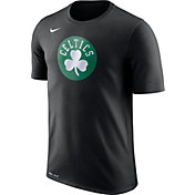 Nike Men's Boston Celtics Dri-FIT Black Logo T-Shirt