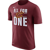 Nike Men's Cleveland Cavaliers Dri-FIT All For One Burgundy T-Shirt
