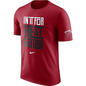 "Nike Men's Miami Heat Dri-FIT ""In It For Heat Nation"" Red T-Shirt"