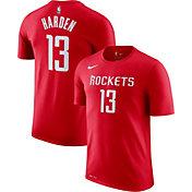 Nike Men's Houston Rockets James Harden #13 Dri-FIT Red T-Shirt
