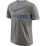 Nike Men's Minnesota Timberwolves Dri-FIT Legend Grey T-Shirt