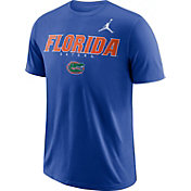 Jordan Men's Florida Gators Blue Football Dri-FIT Facility T-Shirt
