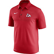 Nike Men's Fresno State Bulldogs Cardinal Elite Football Sideline Polo