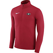 Nike Men's Georgia Bulldogs Red Element Performance Quarter-Zip