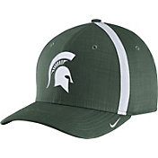 Nike Men's Michigan State Spartans Green AeroBill Football Sideline Coaches Classic99 Hat