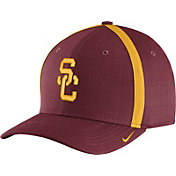 Nike Men's USC Trojans Cardinal AeroBill Football Sideline Coaches Classic99 Hat
