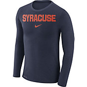 Nike Men's Syracuse Orange Blue Marled Dri-FIT Long Sleeve Shirt
