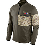Nike Men's Buffalo Bills Salute to Service 2017 Shield Hybrid Jacket