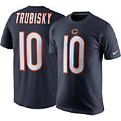 Nike Men's Chicago Bears Mitchell Trubisky #10 Pride Navy T-Shirt