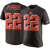 Nike Men's Cleveland Browns Jabrill Peppers #27 Pride Brown T-Shirt