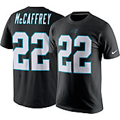 Nike Men's Carolina Panthers Christian McCaffrey #22 Pride Black T-Shirt