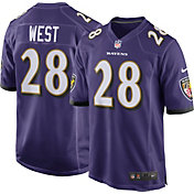 Nike Men's Home Game Jersey Baltimore Ravens Terrance West #28
