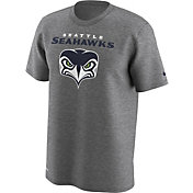 Nike Men's Seattle Seahawks Front Logo Grey T-Shirt