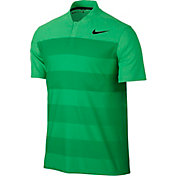 Nike Men's TW Zonal Cooling Stripe Blade Golf Polo