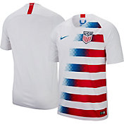 Nike Men's USA Soccer Breathe Stadium Home Replica Jersey