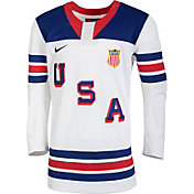 Nike Men's USA Hockey World Junior Classic Replica White Jersey