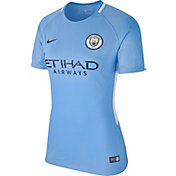 Nike Women's Manchester City Breathe Replica Home Stadium Jersey