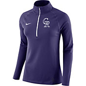 Nike Women's Colorado Rockies Dri-FIT Core Half-Zip Jacket