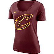 Nike Women's Cleveland Cavaliers Dri-FIT Burgundy Logo T-Shirt