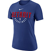 Nike Women's Detroit Pistons Dri-FIT Royal Practice T-Shirt
