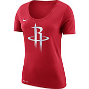 Nike Women's Houston Rockets Dri-FIT Red Logo T-Shirt