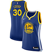 Nike Women's Golden State Warriors Stephen Curry #30 Royal Dri-FIT Swingman Jersey