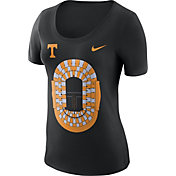 Nike Women's Tennessee Volunteers Anthracite Local Imagery Football T-Shirt