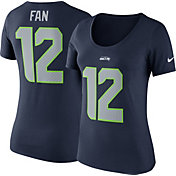 Nike Women's Seattle Seahawks 12th Fan Pride Navy T-Shirt