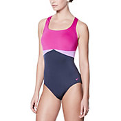 Nike Women's Color Surge Crossback Swimsuit
