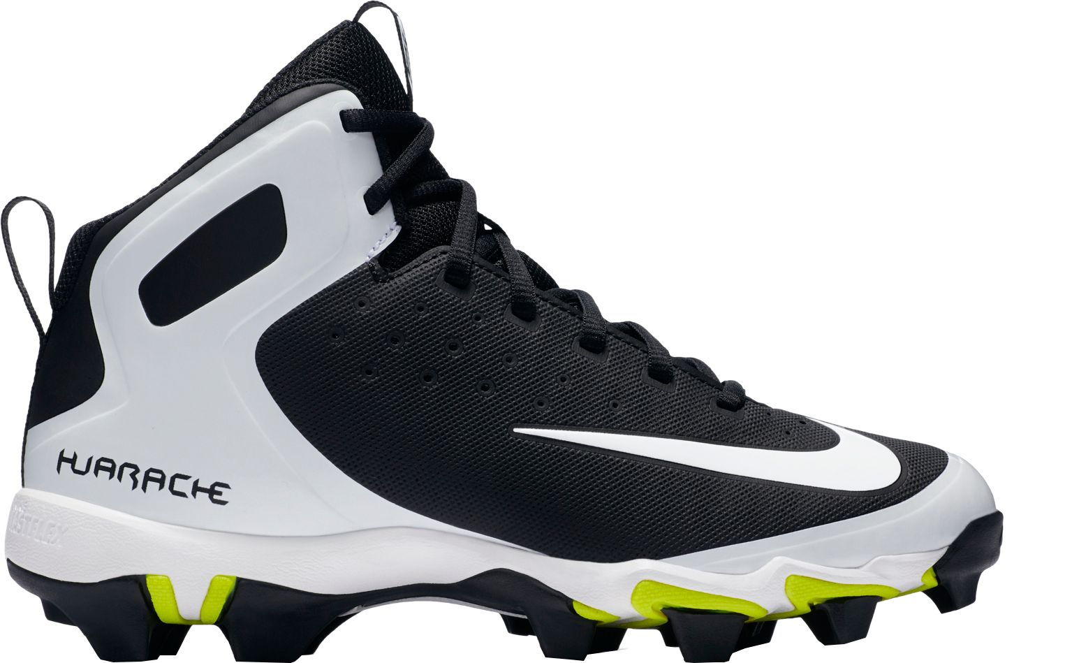Nike Kids\u0027 Alpha Huarache Keystone Mid Baseball Cleats